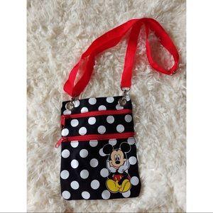 Disney Mickey Mouse Polka Dot Crossbody Bag